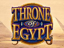Играть онлайн в автомат Трон Египта