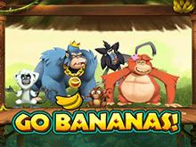 Онлайн игровой автомат Вперед Бананы! в Вулкан Платинум